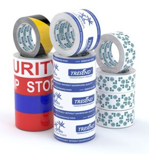 Custom Printed Tape with Logos and Designs