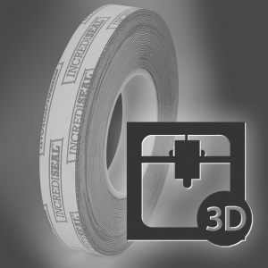 3dPrinting with IncrediSeal Tape